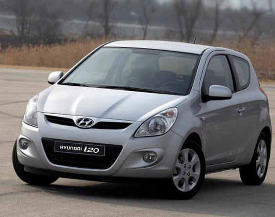 Hyundai i20 5 doors Specifications 2013