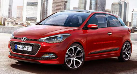 Hyundai i20 Coupe specs sedan