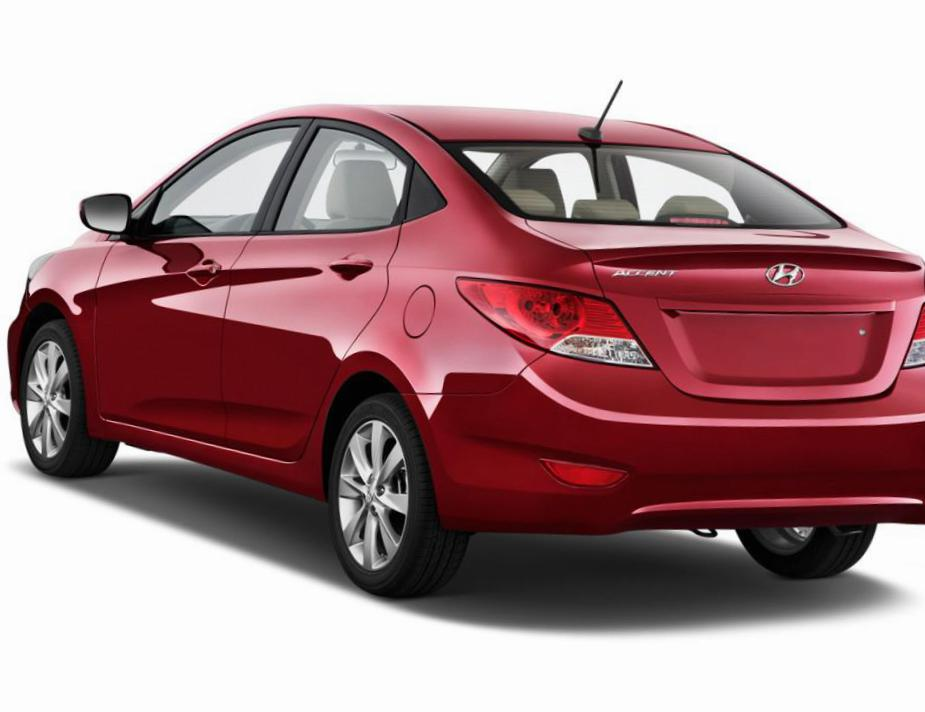 Accent Hyundai approved 2012