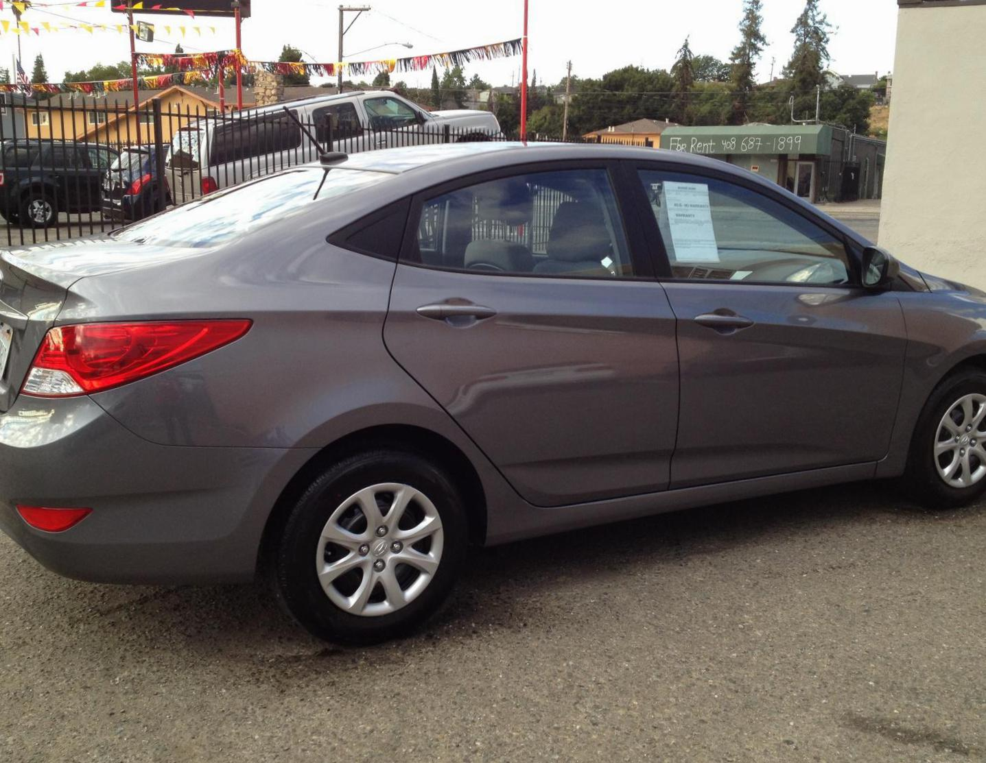 Hyundai Accent approved 2013
