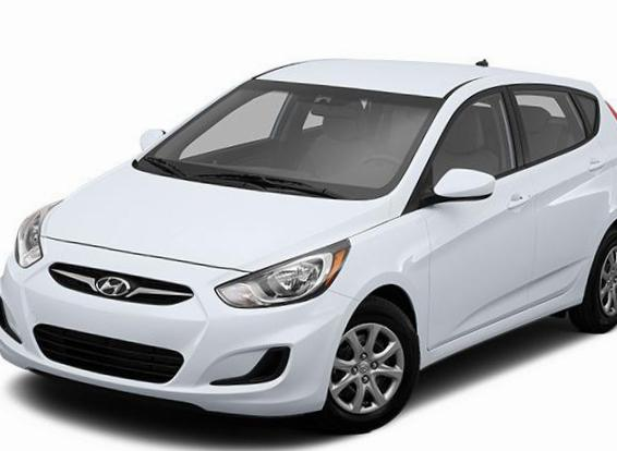 Accent Hatchback Hyundai used 2014