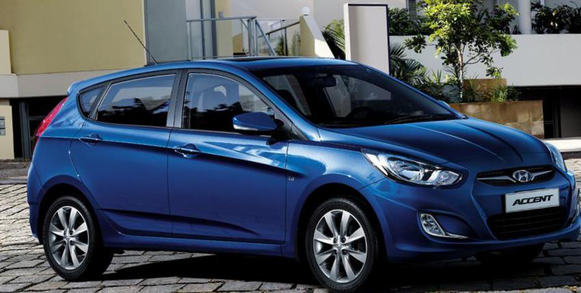 Hyundai Accent Hatchback used 2013