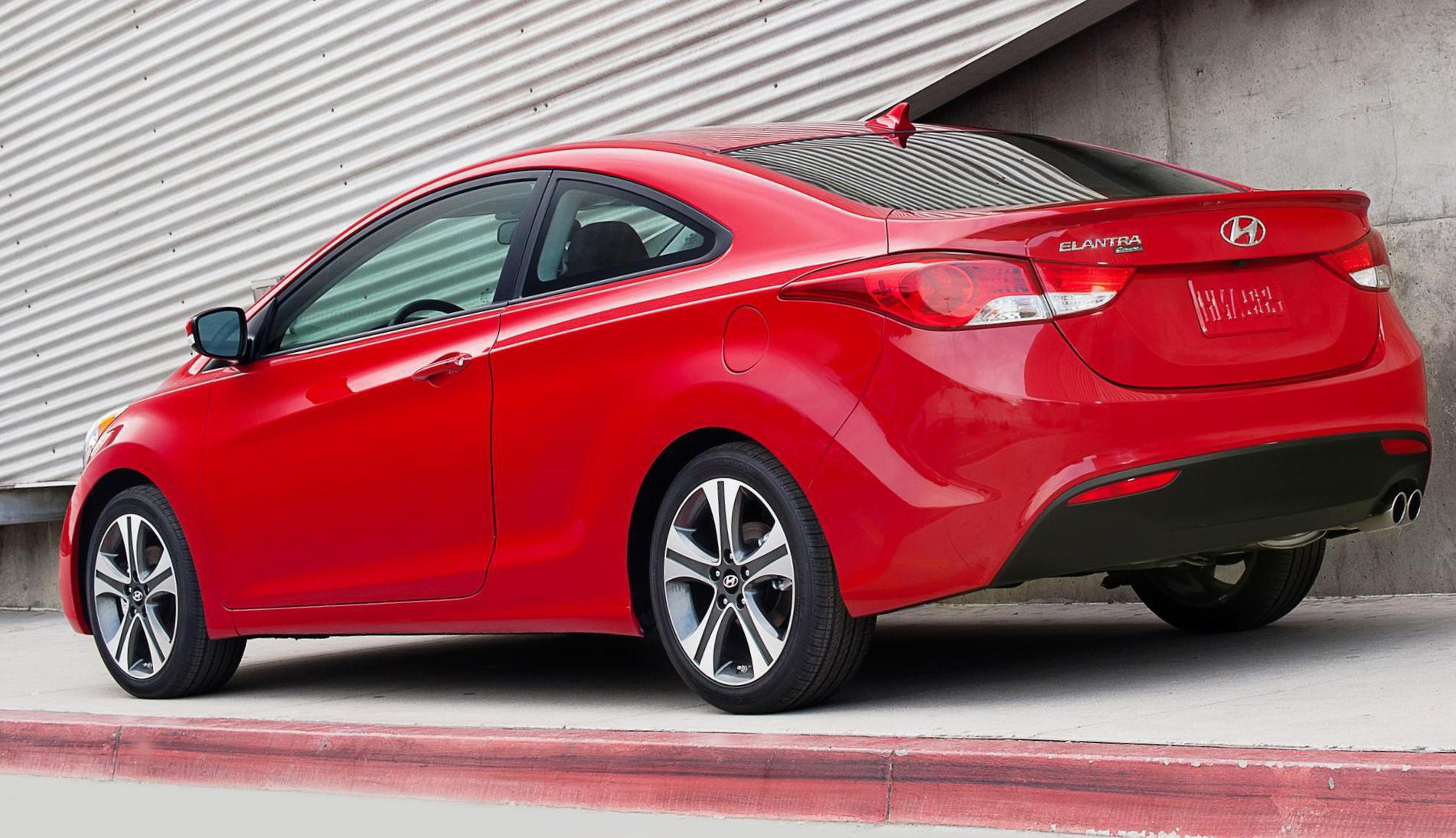 Elantra Coupe Hyundai reviews coupe