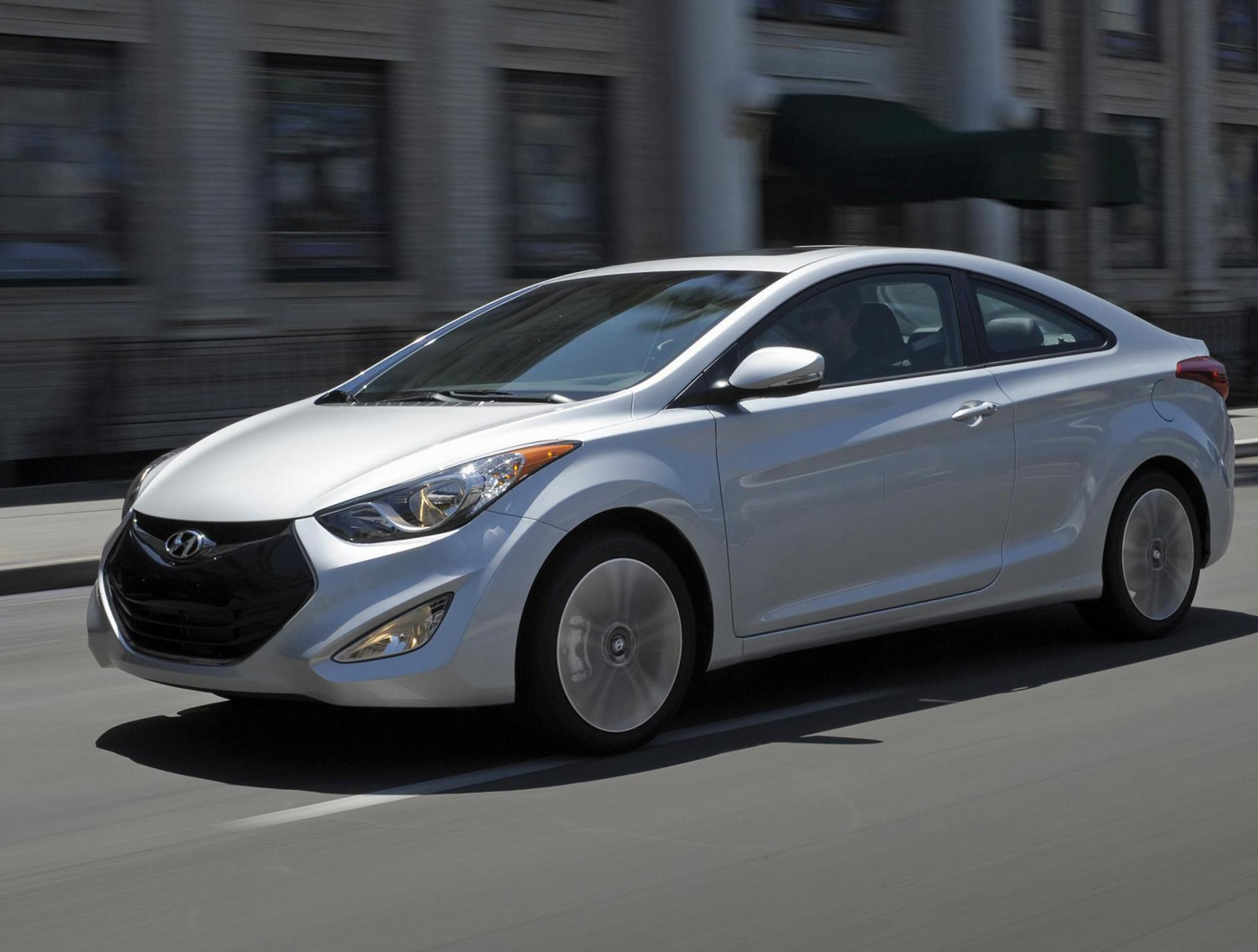 Elantra Coupe Hyundai Specifications 2012