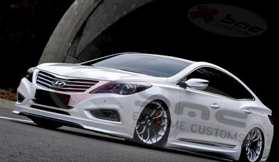 Grandeur Hyundai Specification 2013