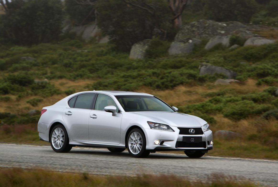 Lexus GS 250 350 approved sedan