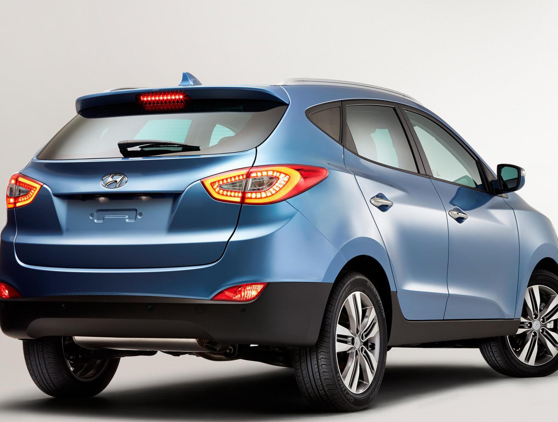 Hyundai ix35: specifications and model description