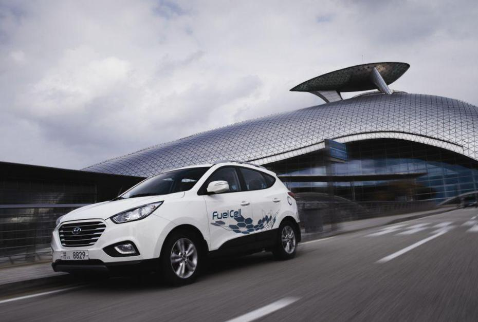 Hyundai ix35 Fuel Cell configuration 2014