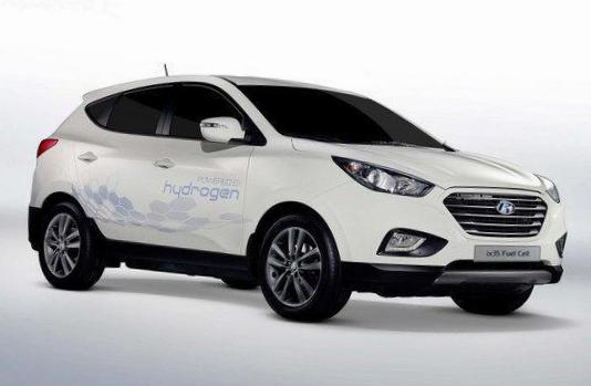 Hyundai ix35 Fuel Cell how mach 2005