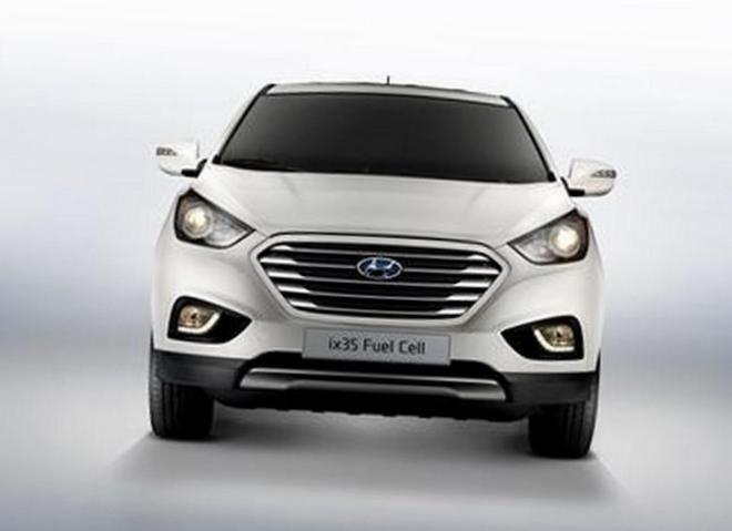 Hyundai ix35 Fuel Cell model 2014