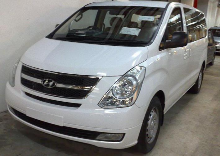 H-1 Wagon Hyundai how mach 2013