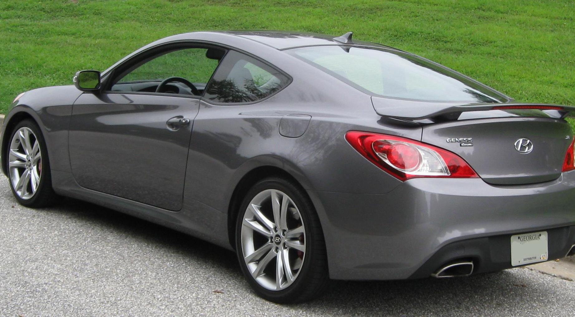 Hyundai Genesis Coupe New 2011