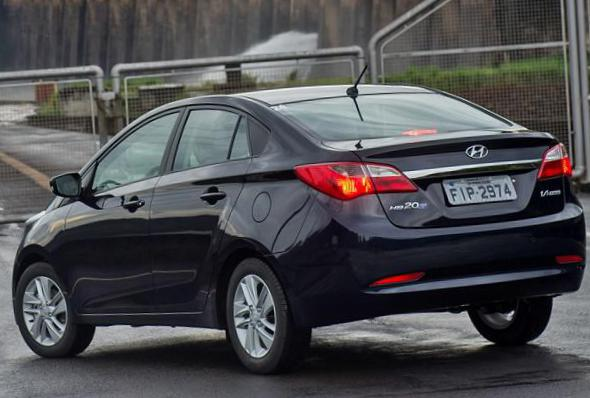 Hyundai HB20S lease sedan