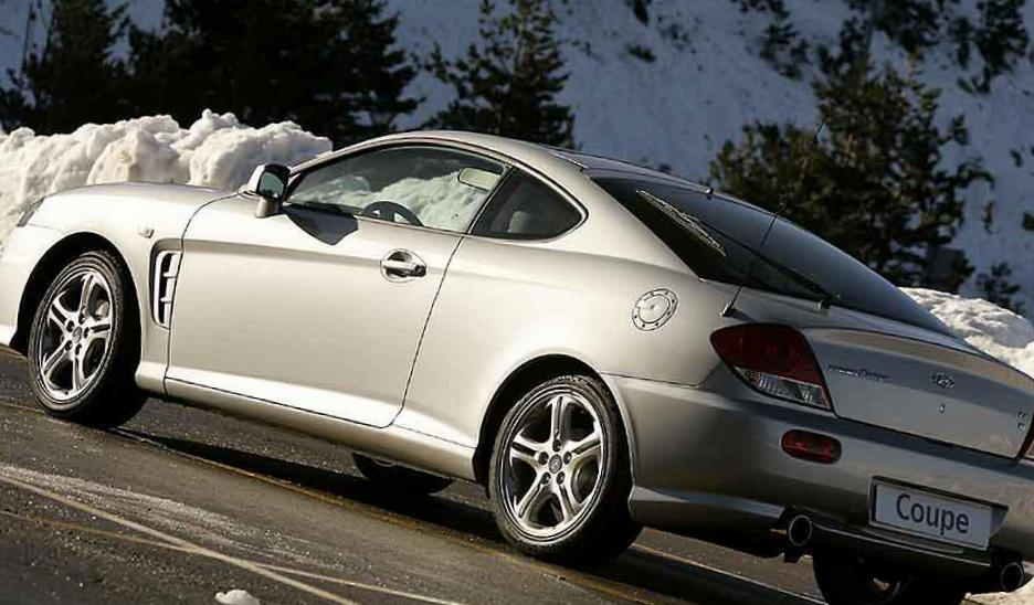 Hyundai Coupe new 2008