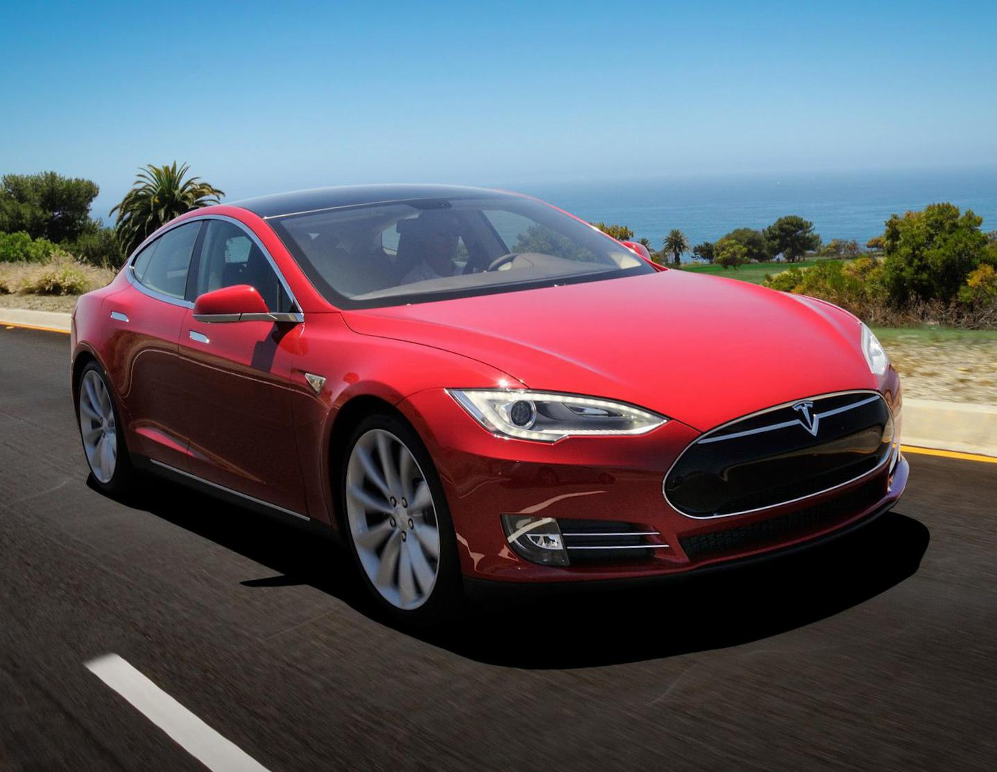 Tesla Model S lease suv