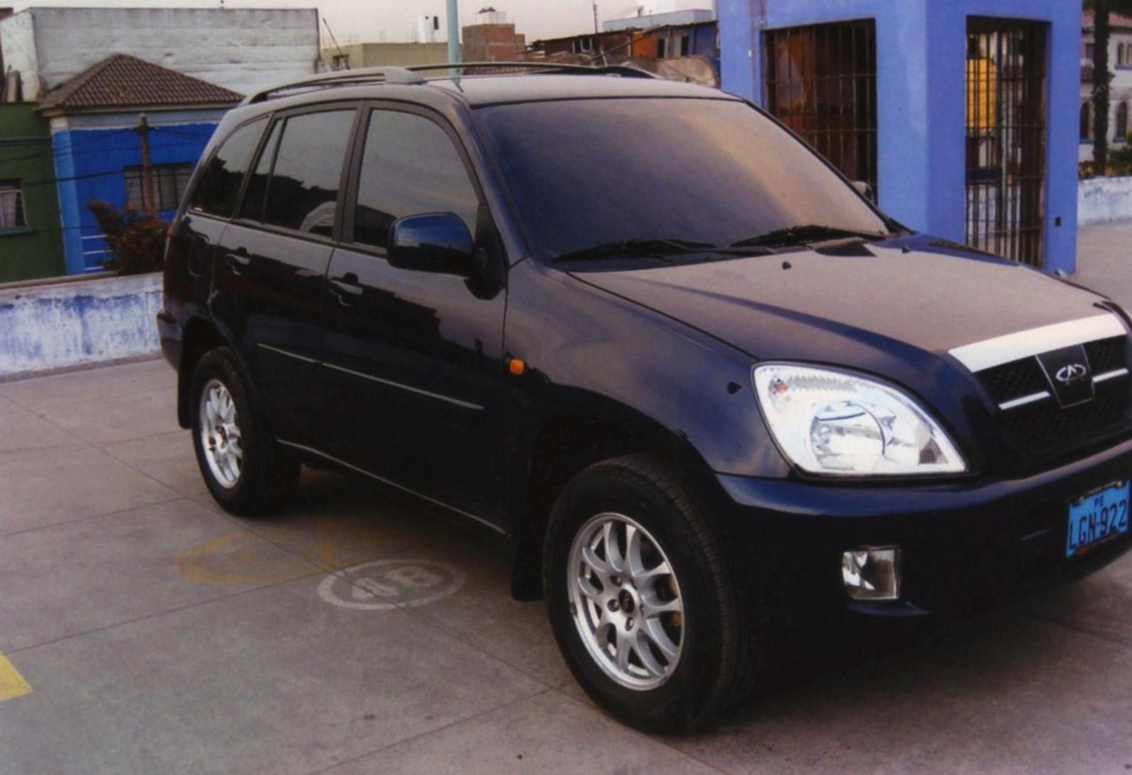 Tiggo Chery Specification sedan