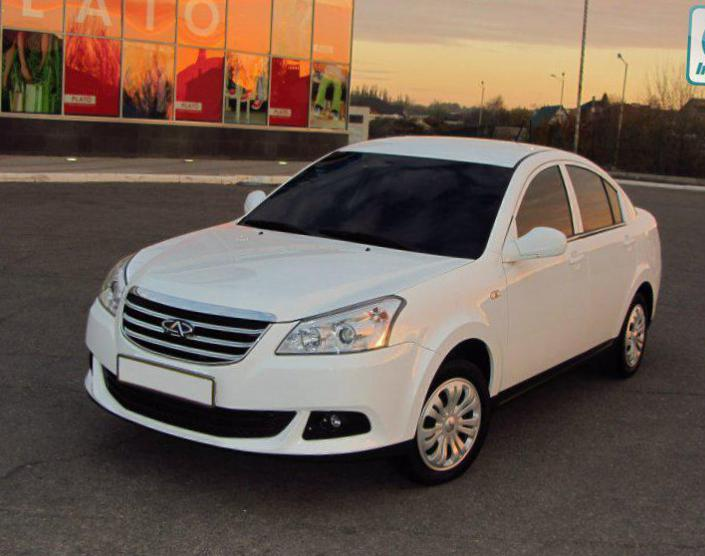 E5 Chery Specifications 2011