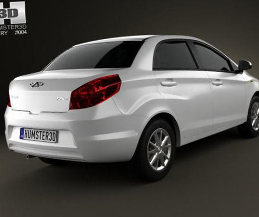 Chery A13 Specifications sedan