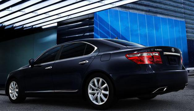 LS 600h Lexus new sedan