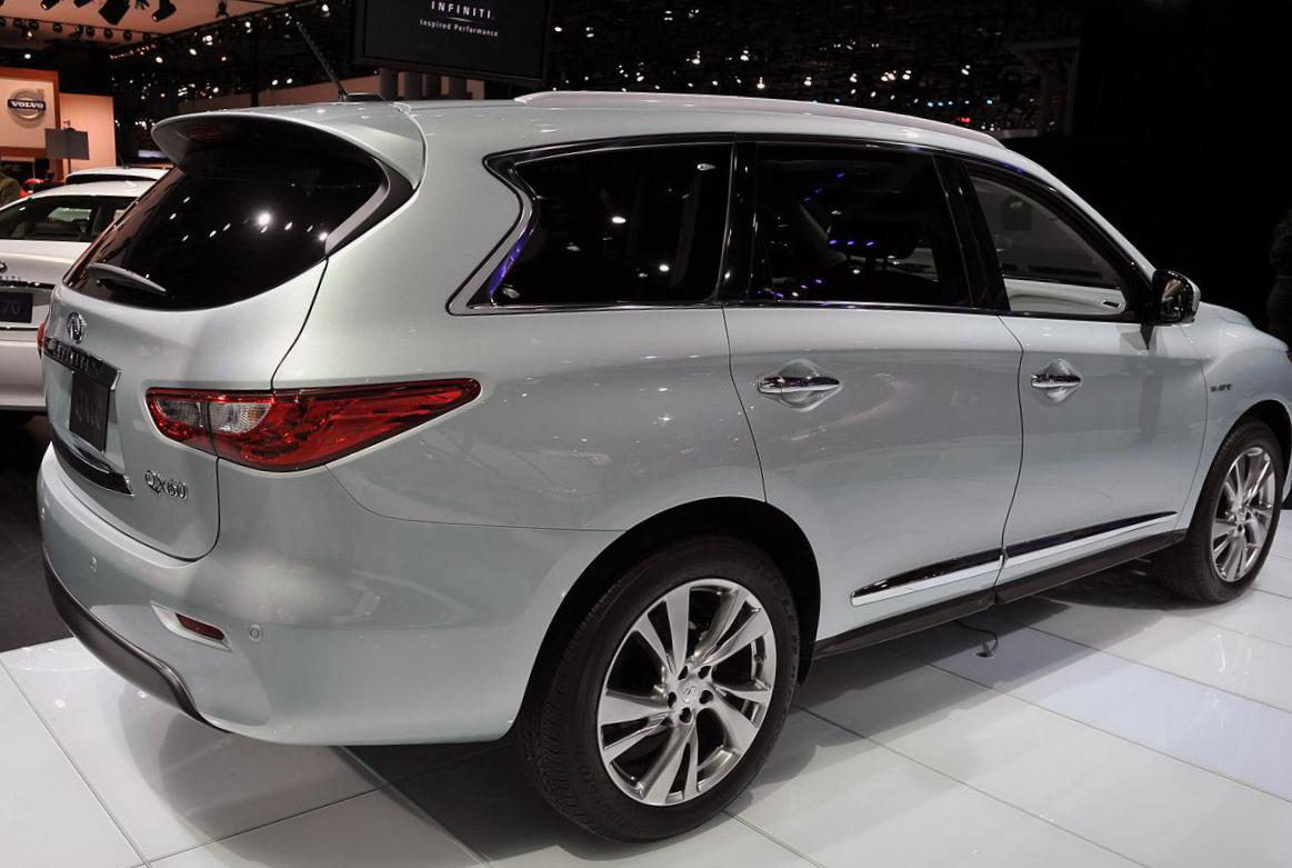 QX60 Hybrid Infiniti Specifications 2003