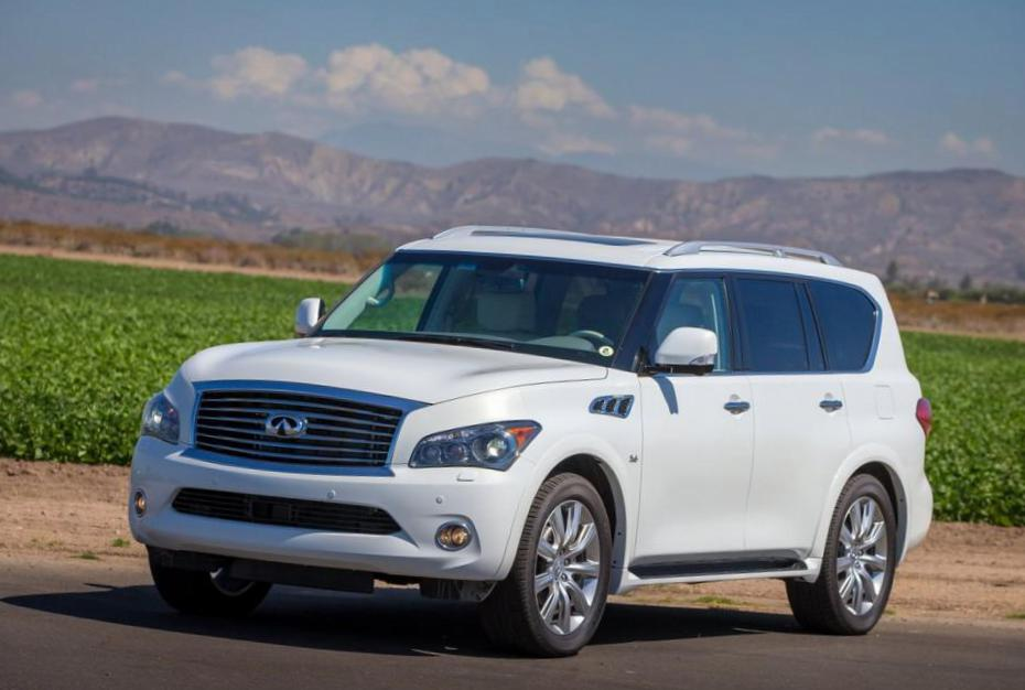 Infiniti QX80 how mach 2014