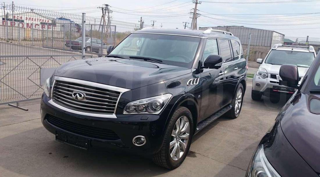 Infiniti QX80 approved 2014