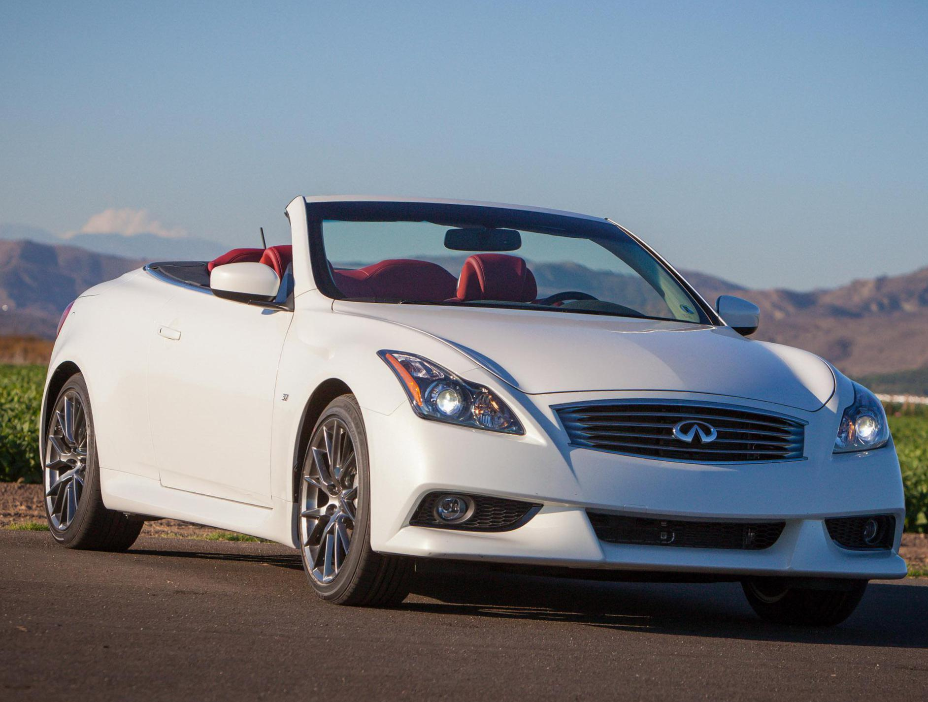 convertible s review infiniti video premium infinity coupe
