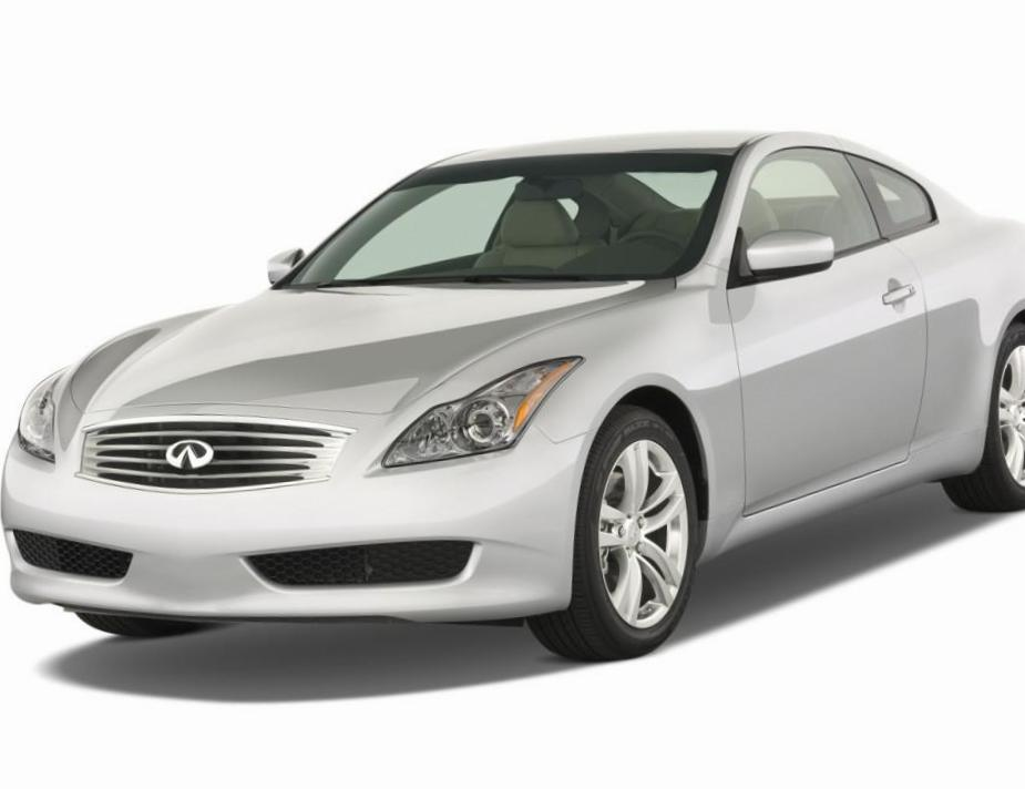 G37 Coupe Infiniti approved 2012