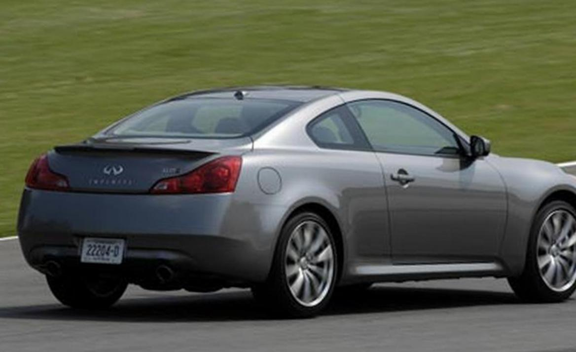 Infiniti G37 Coupe configuration 2006