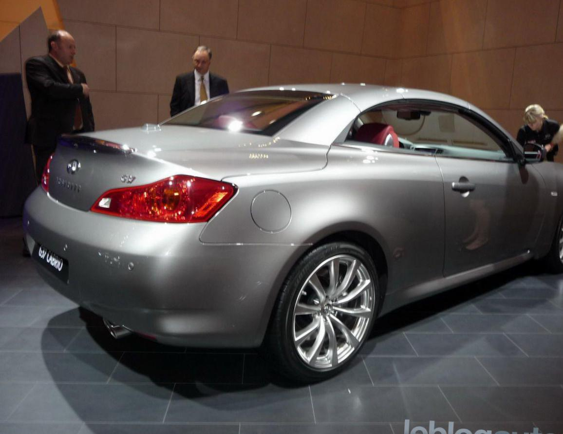 G37 Cabrio Infiniti Specification 2013