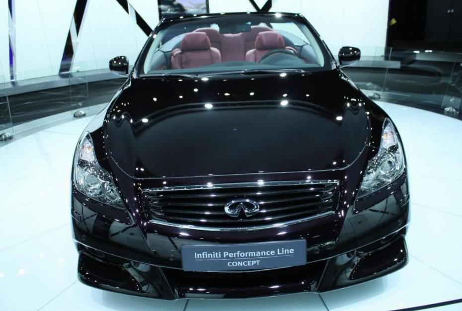 IPL G Convertible Infiniti reviews 2012