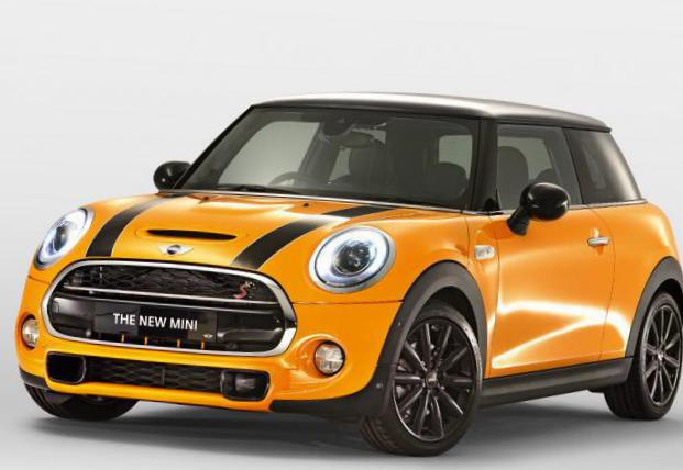 One MINI concept suv