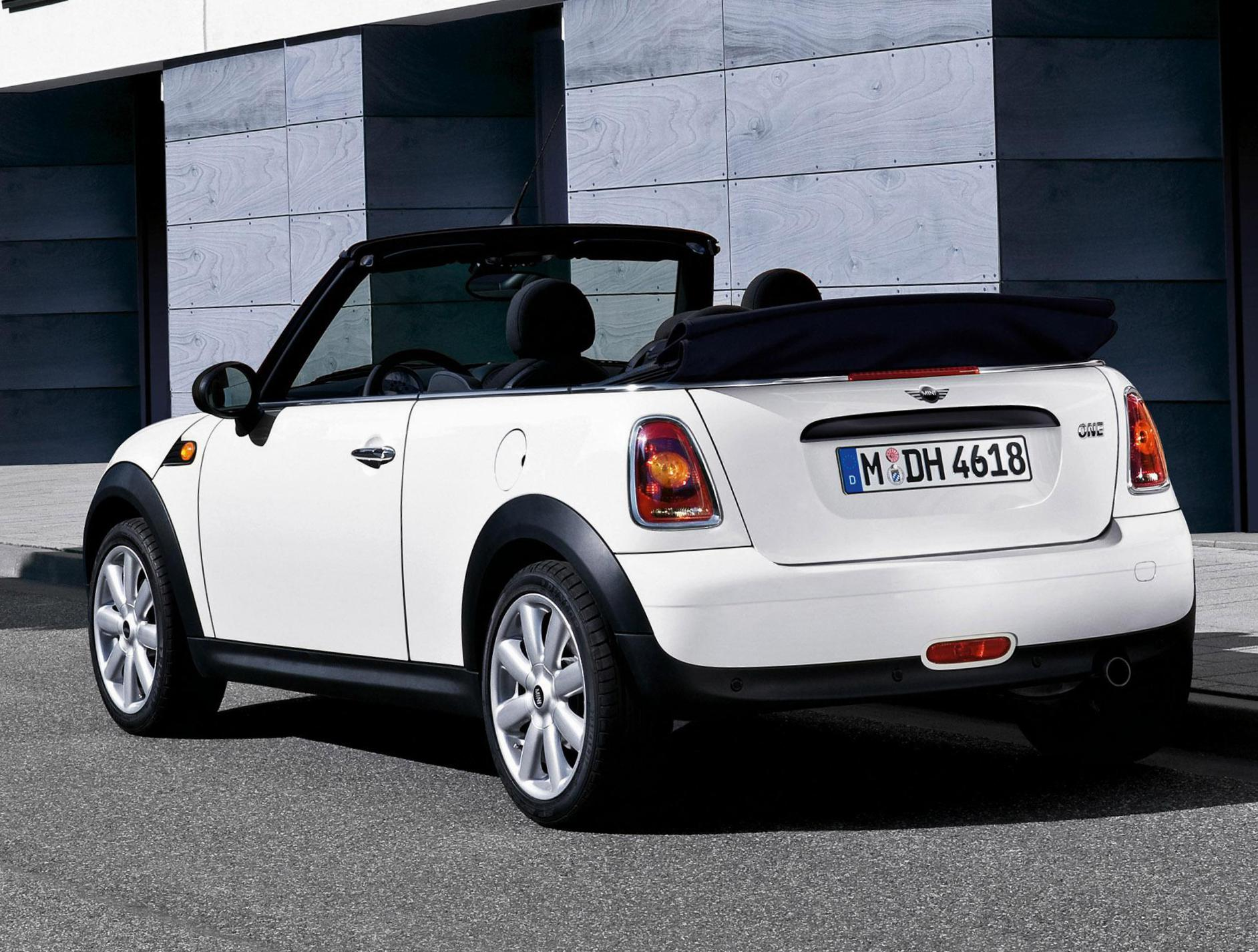 MINI One Cabrio approved 2014