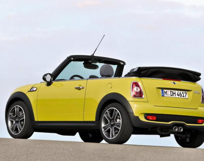 MINI Cooper S Cabrio Specifications 2013