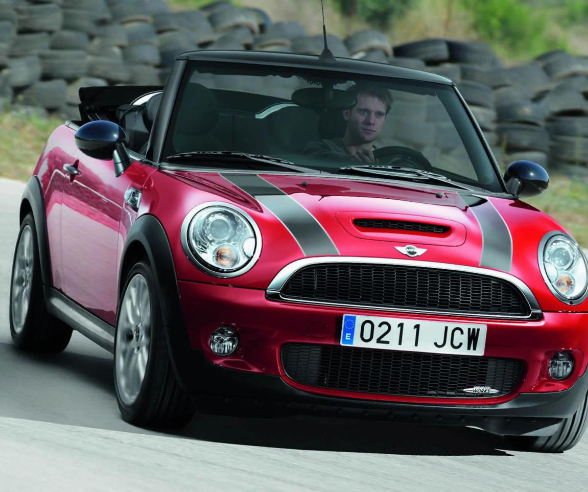 John Cooper Works Cabrio MINI models 2007