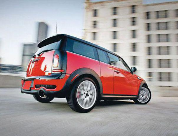 John Cooper Works Clubman MINI review 2003