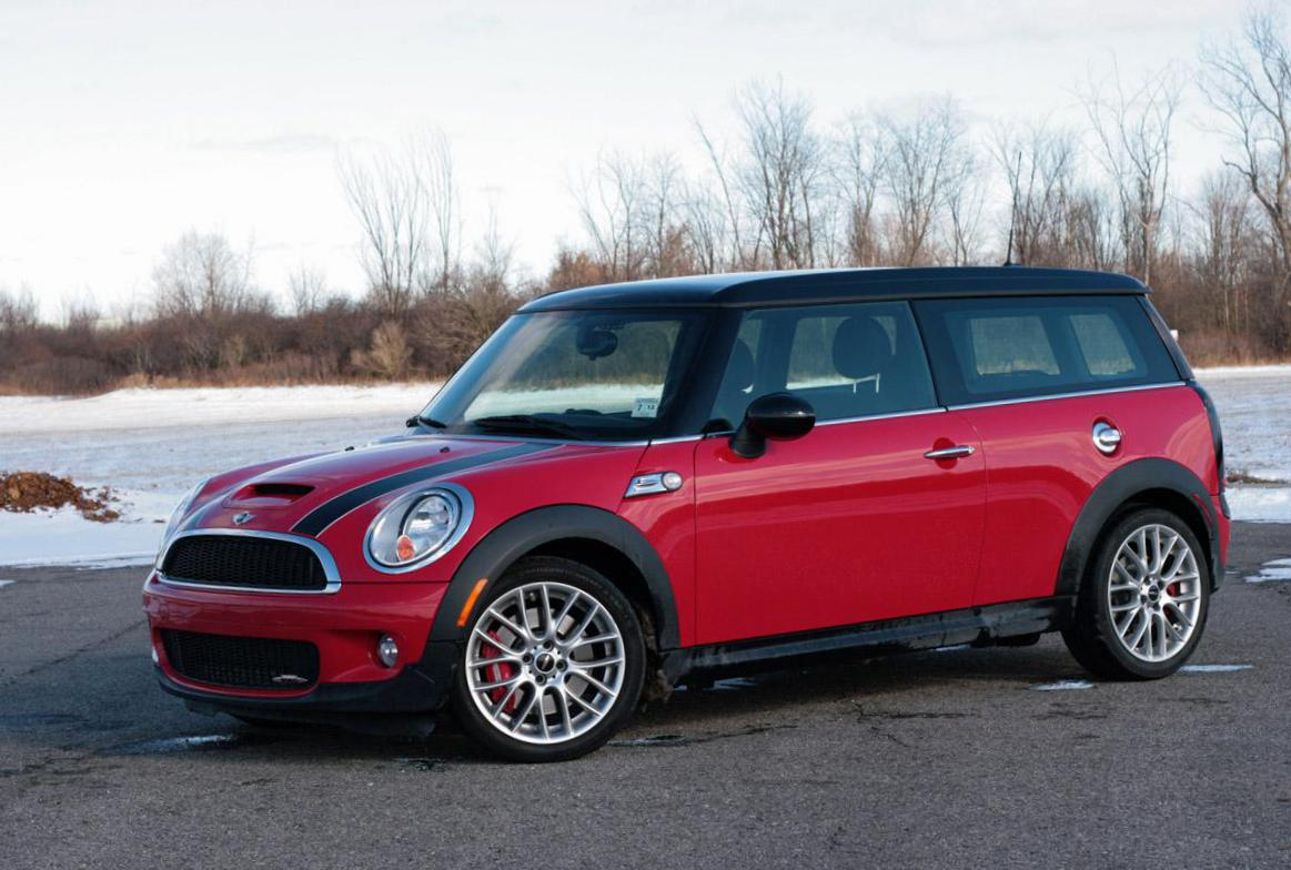 MINI John Cooper Works Clubman models hatchback