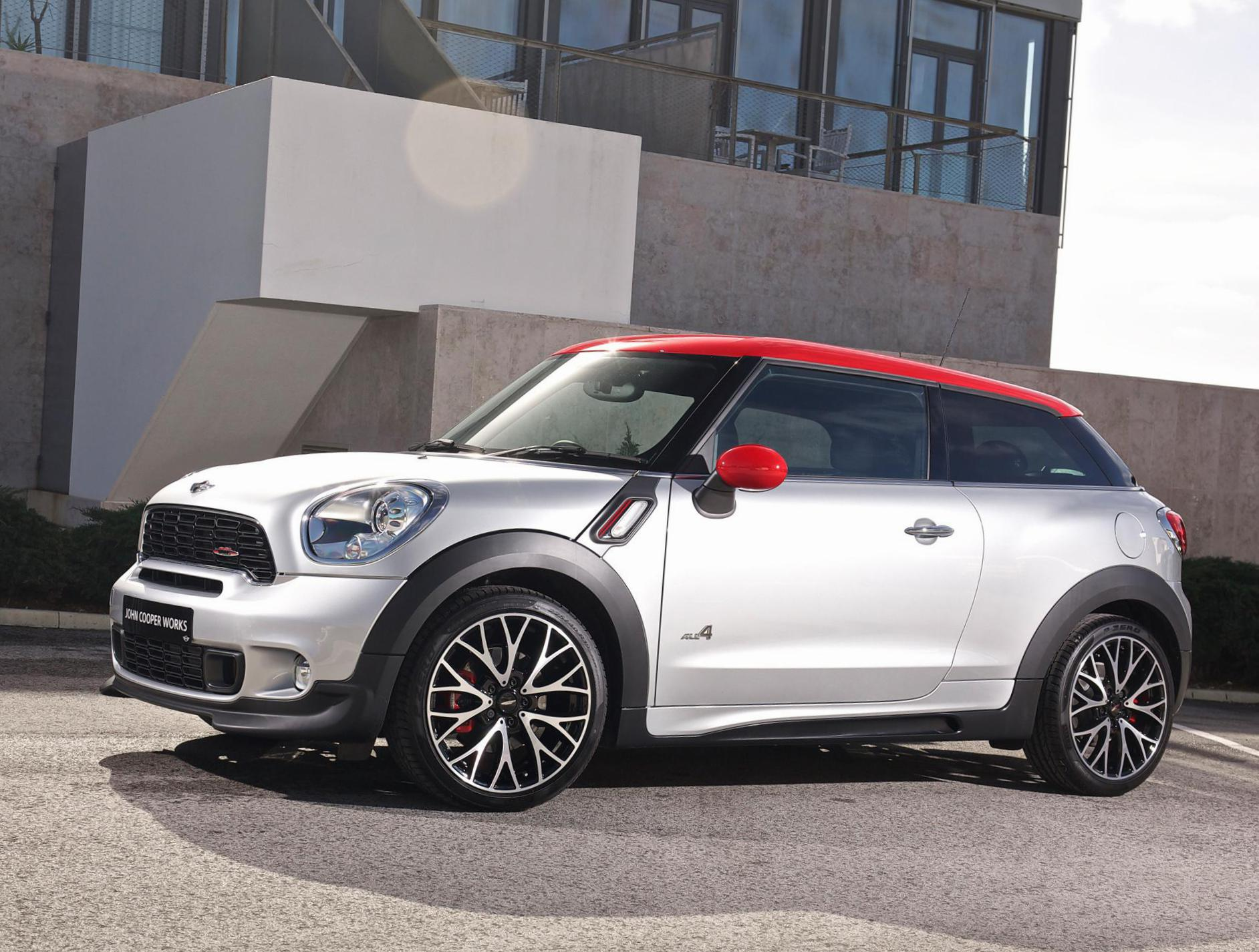 MINI John Cooper Works Paceman review 2012