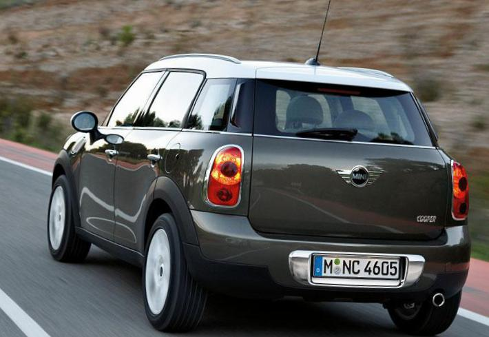 MINI One Countryman cost 2012