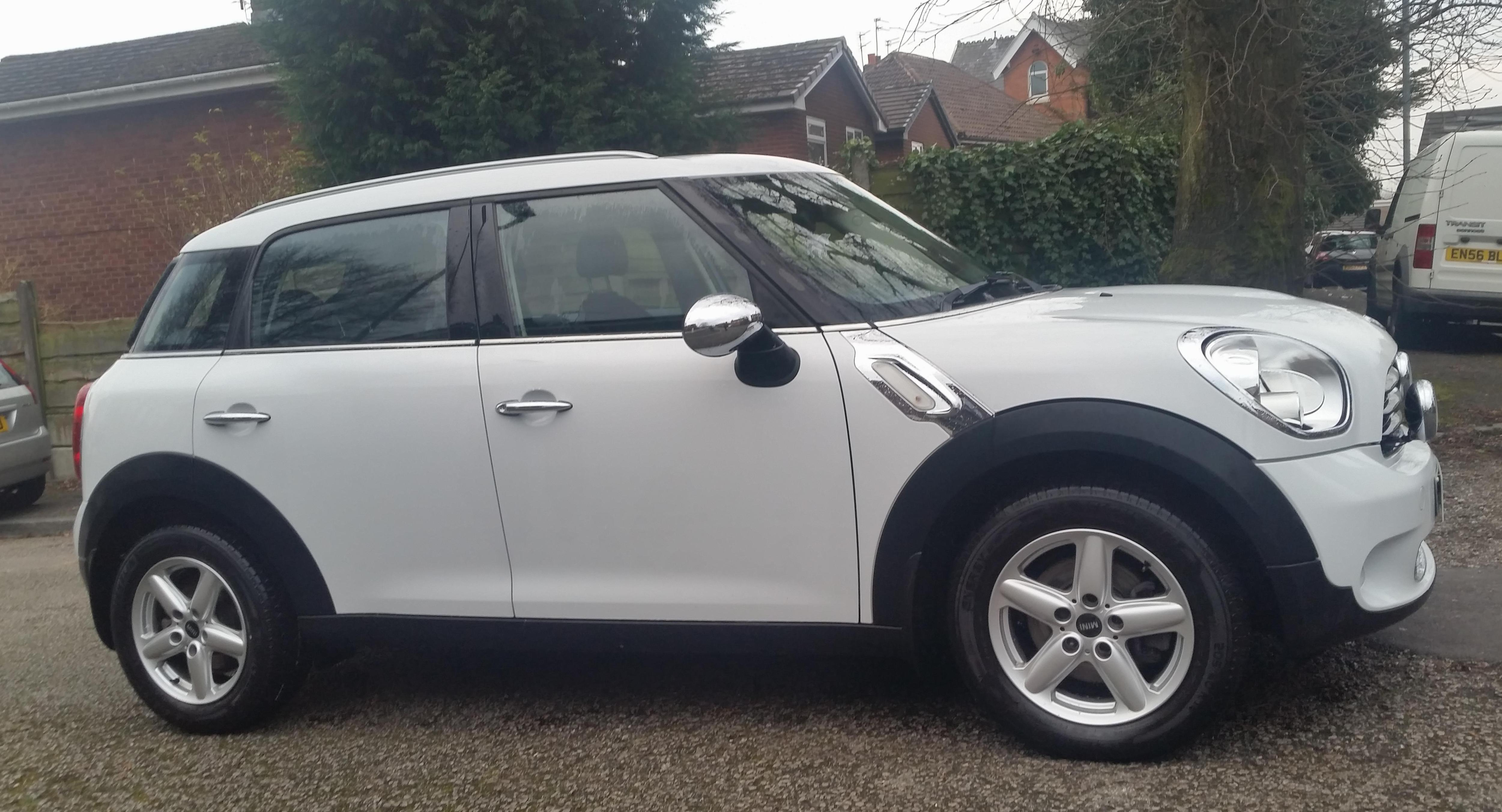 MINI One Countryman spec 2012