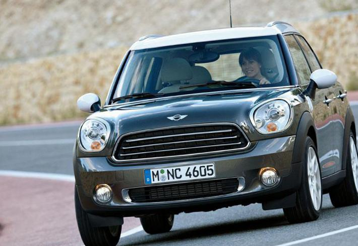 MINI One Countryman usa 2012