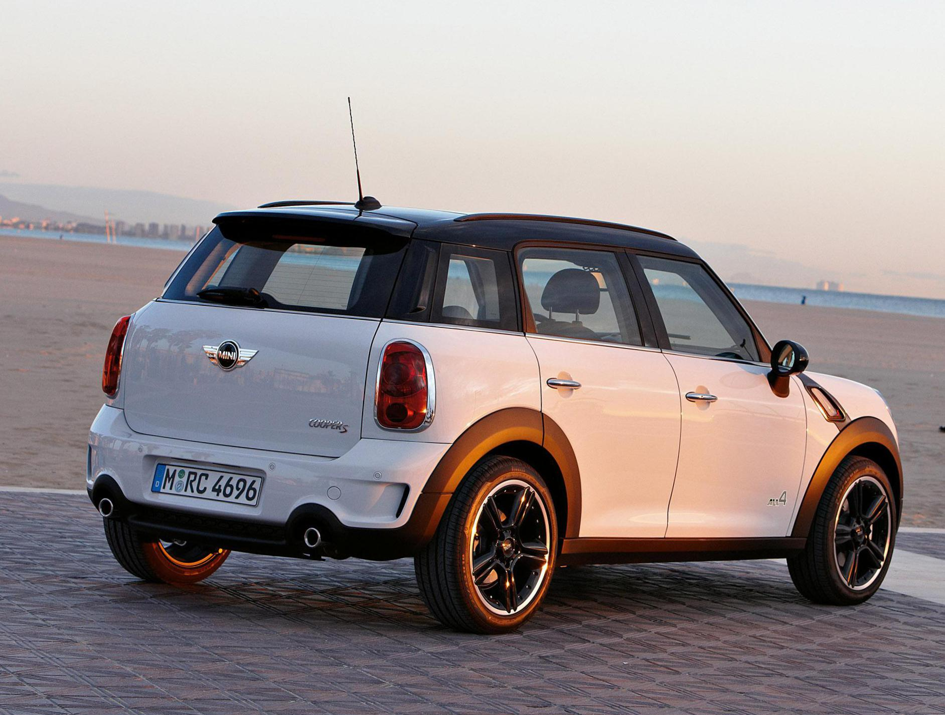 Cooper Countryman MINI Specifications minivan