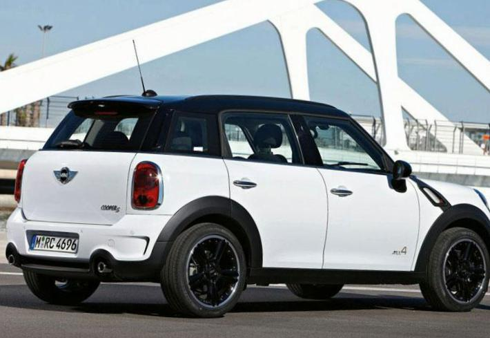 Cooper S Countryman MINI configuration 2014