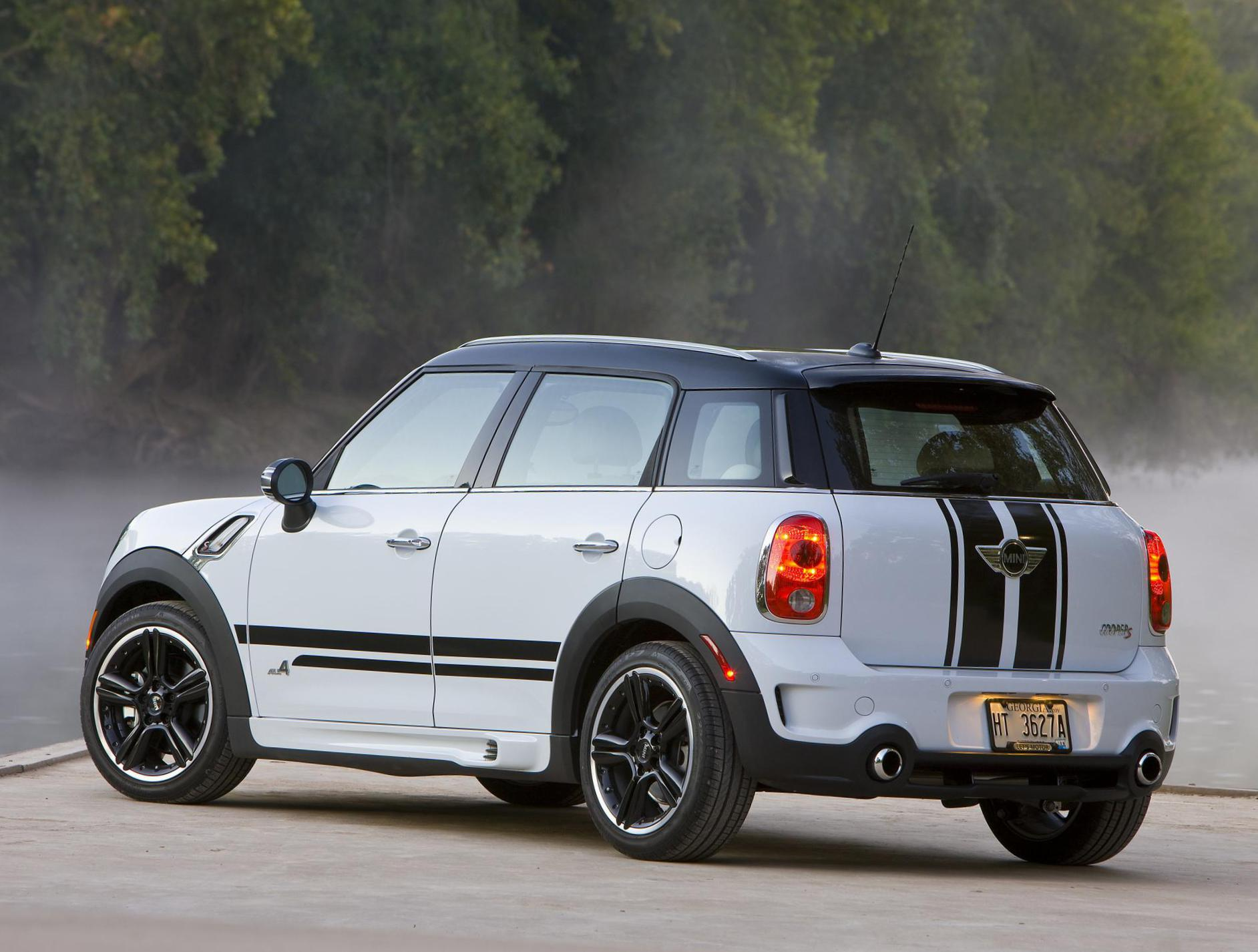 MINI Cooper S Countryman parts 2011