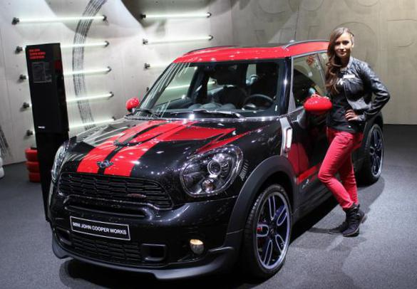 MINI John Cooper Works Countryman review 2013