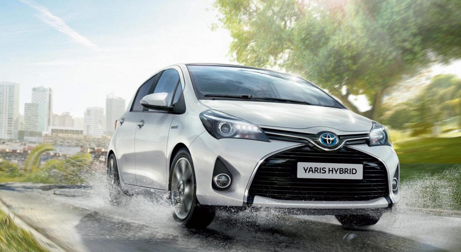 Yaris Hybrid Toyota Model 2017