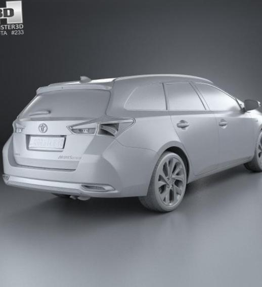 Auris Touring Sports Hybrid Toyota new 2013
