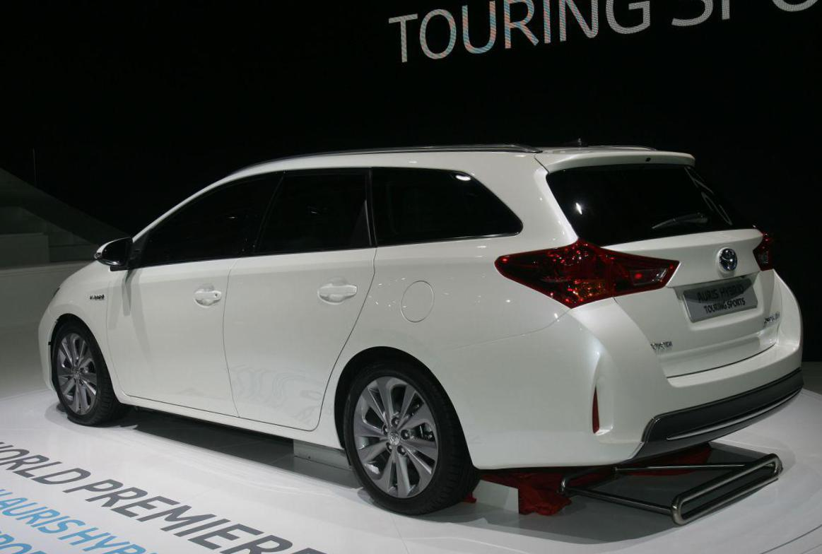 Auris Touring Sports Hybrid Toyota used coupe