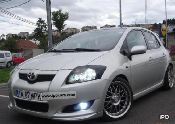 Auris Toyota Specification 2003