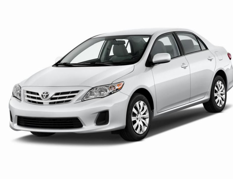 Corolla Toyota prices sedan